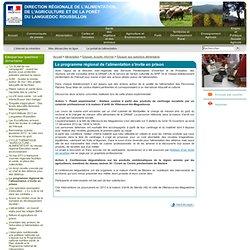 DRAAF MONTPELLIER 02/04/13 Le programme régional de l'alimentation s'invite en prison