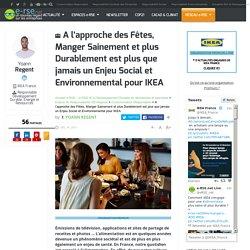Alimentation saine et responsable : un enjeu pour IKEA