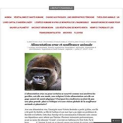 Alimentation crue et souffrance animale