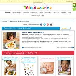 Alimentation, toute l'alimentation des enfants