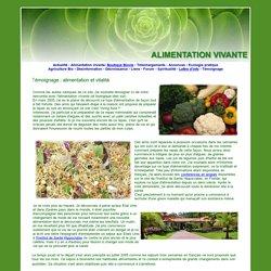 Alimentation vivante, graines germées, alimentation vitalité, alimentation crue, alimentation végétalienne, living food, institut hippocrates