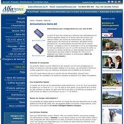 Alimentations Série AD - Alfatronix Ltd