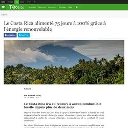 Le Costa Rica alimenté 75 jours à 100% grâce à l'énergie renouvelable