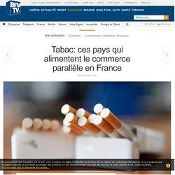 Tabac: ces pays qui alimentent le commerce parallèle en France