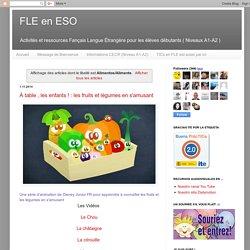 FLE en ESO: Alimentos/Aliments