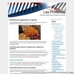 Alimentos vegetales ricos en proteínas para vegetarianos y veganos