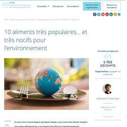 Les 10 pires aliments pour l'environnement et la planète