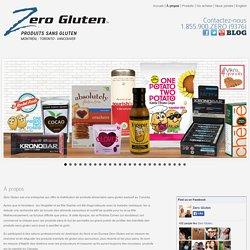 Aliments sans gluten - Distributeur d'aliments sans gluten