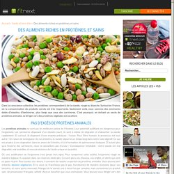 Rduaia a ajouté : Des aliments riches en protéines, et sains - Le Blog d'Erwann