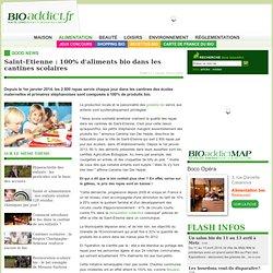 Saint-Etienne : 100% d'aliments bio dans les cantines scolaires