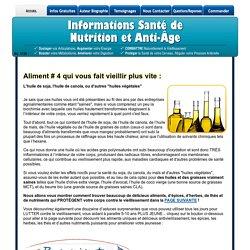 4 Aliments qui font vieillir plus vite - Evitez-les et paraissez 5-10 ans plus jeune...