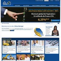 Alios Finance Sénégal