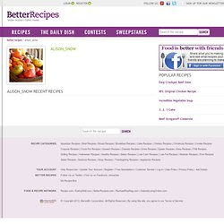 Alison_snow| Cooks | Better Recipes