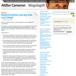 Alister Cameron // Blogologist // Changing the world. One blog(ger) at a time.