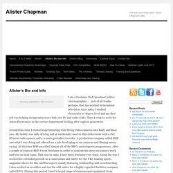 Alister's Bio and Info