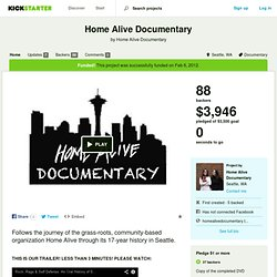 Home Alive Documentary by Home Alive Documentary