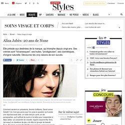 Aliza Jabès: 20 ans de Nuxe - L'Express Styles