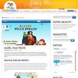 Alizée, fille pirate - + 3 ans - 2€99