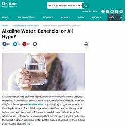 Alkaline Water: Can It Help Your pH Balance and Hydration?