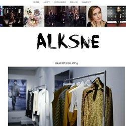 Alksne: H&M STUDIO AW15