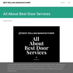 All About Best Door Services