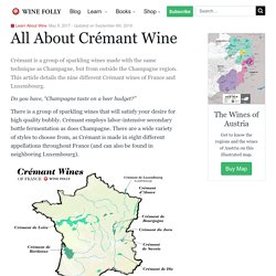 All About Crémant Wine
