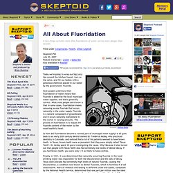 All About Fluoridation
