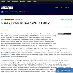 Randy Brecker: RandyPOP!