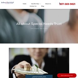 All about Special Needs Trust