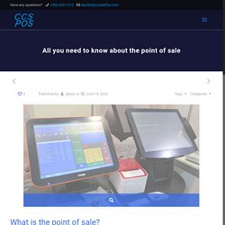 All you need to know about the point of sale
