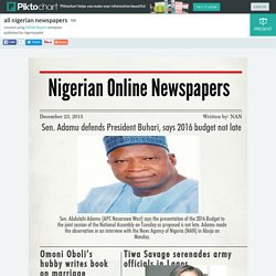 all nigerian newspapers