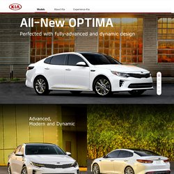 All-new Optima l Kia Motors Worldwide