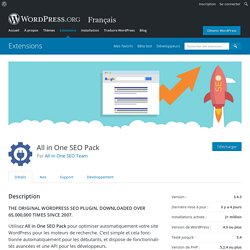 All in One SEO Pack – Extension WordPress