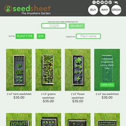 All Products - Seedsheet Store