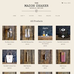 All Products – The Mason Shaker