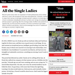 Magazine - All the Single Ladies