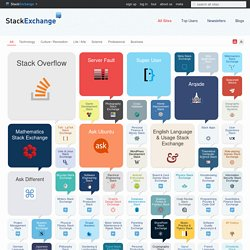 All Sites - Stack Exchange
