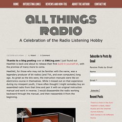 All Things Radio