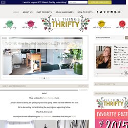 All Things Thrifty Home Accessories and Decor