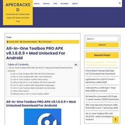 All-In-One Toolbox PRO APK v8.1.6.0.9 + Mod Unlocked For Android