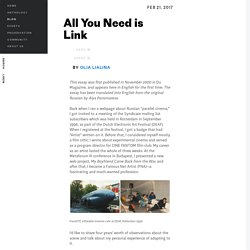 All You Need is Link