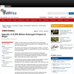 Uganda: U.S.$50 Million Kalangala Project to Begin