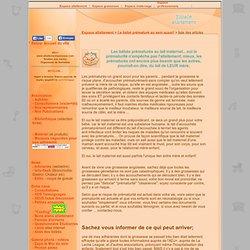 liste des articles allaitement d'un bébé né prématurément - allaiter un bébé prématuré au lait maternel - ADJ+