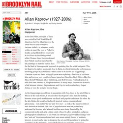 Allan Kaprow (1927–2006)
