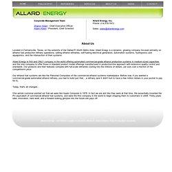 Allard Energy - Ethanol