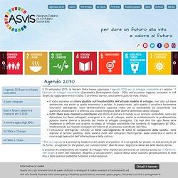 Agenda 2030 - Alleanza Italiana per lo Sviluppo Sostenibile