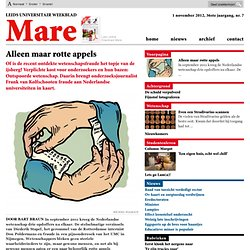 Mare: Alleen maar rotte appels