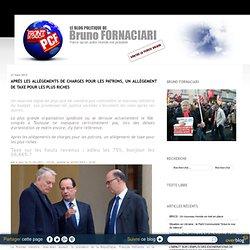 Après les allègements de charges pour les patrons, un allègement de taxe pour les plus riches - Blog Politique de Bruno FORNACIARI