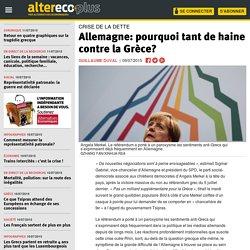 Allemagne: pourquoi tant de haine contre la Grèce?