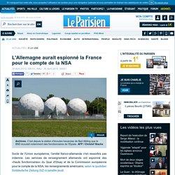 L'Allemagne aurait espionné la France pour le compte de la NSA